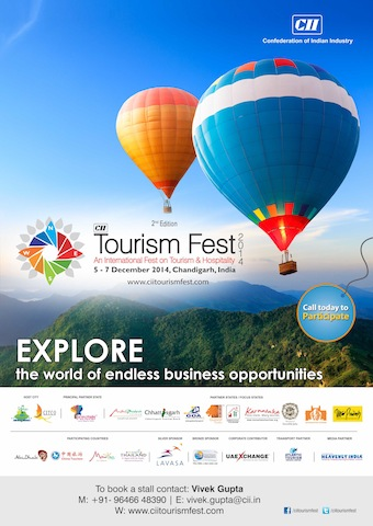 CII_Tourism_fest_2014_heavenly_india