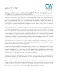 01 - CTW China 2015 Press Release