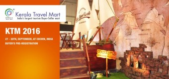 Kerala Travel Mart 2016 – BUYERS Pre-Registration Ends by 28th July 2016